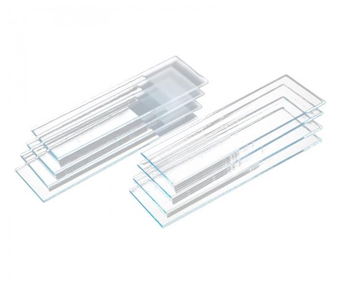 Lâmina para microscopia com ponta Lisa - Labor Import