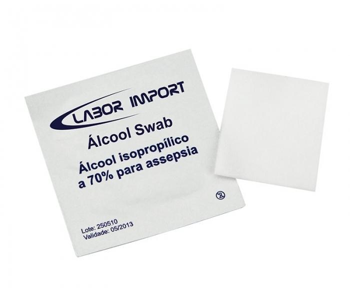 Álcool Swab - Labor Álcool - Labor Import