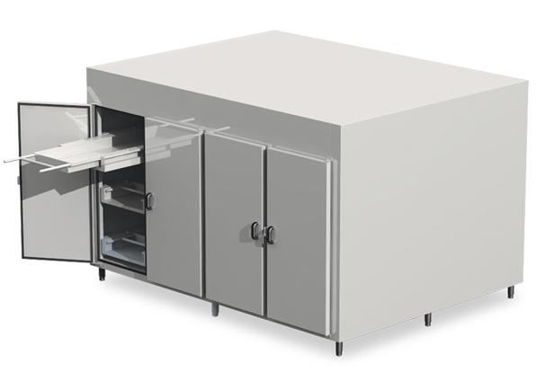 Câmaras Refrigeradas para Conservação de Corpos para 12 Corpos com 4 Portas