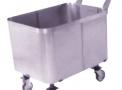 Carrinho para Transporte de Roupas em Aço Inox
