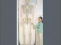 imagem de Super Esqueleto 244 cm com suporte (...)