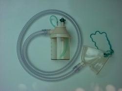 Conjunto de Nebulização Traquéia de Silicone