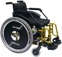 Cadeira de Rodas Aluminio Funcional Adulto