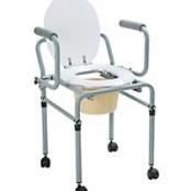 Cadeira de Banho Higiênica Alumínio