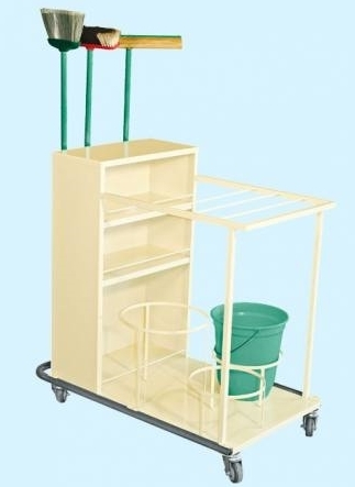Carro Transporte de Material de Limpeza MA-526