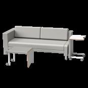 Sofá-Cama Decore – Modelo Fixo MT 1047