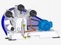 Compressor Medicinal Montado sobre Base EL-2100-B