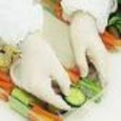 Luvas de Latex para Manipulação de Alimentos
