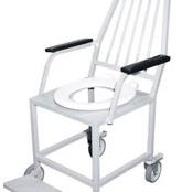 Cadeira de Rodas para Banho de Obeso MD033A