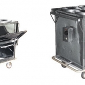 Carro Térmico para Transporte de Alimento com 6 Recipientes MD059