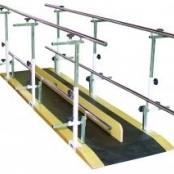 Barra Paralela Dupla - 3m Ref. 1060/I - Aço Inox