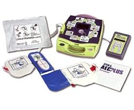 Simulador de DEA Desfibrilador Externo Automático AED Plus Trainer