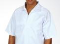 Camisa de Brim sem Botão