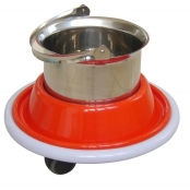 Balde a Chute em Fiberglass (Balde Aço Inox 5 Litros) MOL30-002