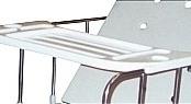 Mesa para Refeição ao Leito (Curva) para uso sobre Grades MOL110-011