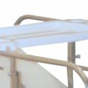 Mesa para Refeição ao Leito (Reta) para uso sobre Grades MOL110-012