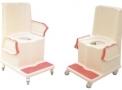 Cadeira de Banho e uso Sanitário MOL100-005