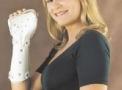 Tala Plástica com Fechos Aderentes Punho - Mão - Dedos 404