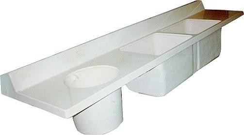 Lavatório para Sala de Expurgo MOL90-003