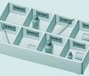 Bandeja de Distribuição de Medicamentos de 8 Cavidades