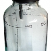 Frasco para aspirador cirúrgico Ref.051