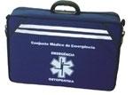 Conjunto Médico de Emergência para Suporte Avançado de Vida com acessórios