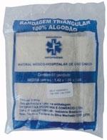 Bandagem Triangular para Imobilização e Transporte