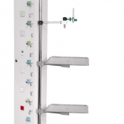 Painel Vertical  Twin 2 Bandejas