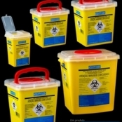 Coletor rígido para perfurocortante amarelo - VACUPLAST