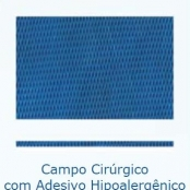 Campo Cirúrgico com Adesivo Hipoalergênico