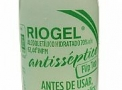 Álcool Etílico Hidratado 70% Riogel Antisséptico 430G Flip Top  - Rioquímica