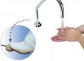 imagem de Acionador  de água SEM TORNEIRA INÓX modelo Higipratic I com 1 Pedal - Cristófoli