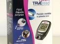 Kit Medidor de Glicemia Glicosímetro Trueread Fácil   Acompanha: Chip + Lancetador + 10 Lancetas + 10 Tiras + Estojo + Manual de Instruções - HDI Diagnostics