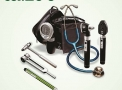 Combo 3 Esteto Spirit CK-S601PF + Esfigmo Palm + Lanterna Led + Otoscópio Fibra Ótica OMNI + Martelo Neurológico Buck + Oftalmoscópio OMNI + Diapasão