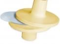 Suporte para Espirômetro modelo Medfiltro que atua como barreira para substâncias como saliva e bactérias - BHS