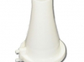 Bocal para Espirômetro em PVC branco tipo Cone - Type