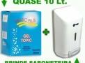 Álcool Gel 70% Hidratante Glicerina 800ml - Columbus