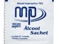 Álcool Swabs 70% Sachet Swab com 200 unid. - MP