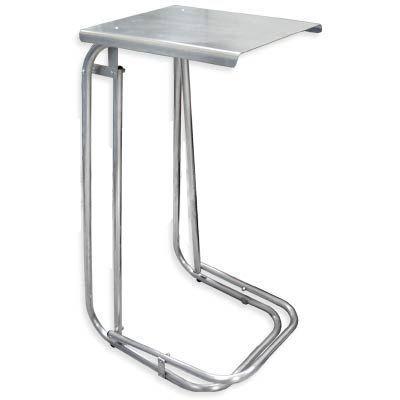 Lixeira de chão alumínio hospitalar e consultórios com tampa e pedal basculante - Maxiplus