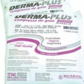 Compressa de Gaze Esteril - Não aderente com 10 unidades - Derma Plus