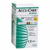 Tiras Accu Chek Active 50 Unidades - Roche