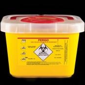 Coletor Rígido para Perfurocortantes - 3 Litros