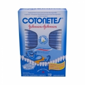Haste Flexível Cotonetes Johnson & Johnson com 150 Unidades