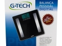 Balança Digital G-Tech Glass Pro