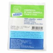 Compressa Gaze Araujo Estéril Envelopes 10 Unidades
