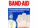 Curativos Band Aid Johnson & Johnson Transparentes com 40 Unidades