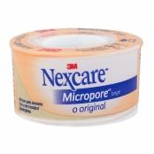 Esparadrapo Nexcare Micropore Bege 25mm x 4,5m com 1 Unidade