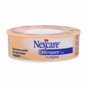 Esparadrapo Nexcare Micropore Bege 12mm x 4,5m com 1 Unidade