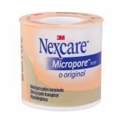 Esparadrapo Nexcare Micropore Bege 50mm x 4,5m Bege com 1 Unidade