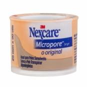 Esparadrapo Nexcare Micropore Bege 25mm x 90cm com 1 Unidade